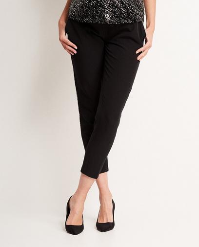 Zwarte geklede broek